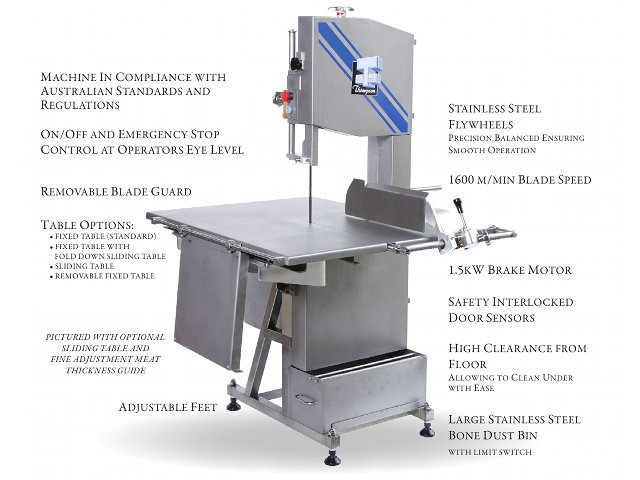 THOMPSON MEAT MACHINERY || 350 Bandsaw